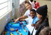 Baleia Franca é estudada por alunos da EMEF Tranquillo Pissetti