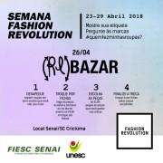 Movimento Fashion Revolution será desenvolvido em Criciúma