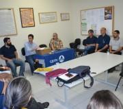 Equipe técnica do projeto Geoparque se reúne em Jacinto Machado