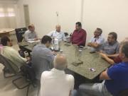 Reunião entre Criciúma e o deputado Ronaldo Benedet