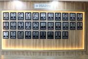 Revitalizada a galeria dos presidentes da Câmara Municipal de Içara