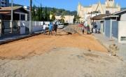 Ruas pavimentadas com lajotas são recuperadas