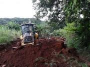 Estradas de acessos às propriedades rurais são recuperadas