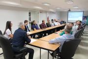 Representantes do Sul na diretoria da Fiesc participam de reunião