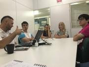 Grupo de intercâmbio 2018 realiza planejamento de viagem