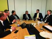 Paulo Guedes se reúne com comitiva catarinense em Brasília