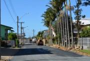 Ruas no bairro de Morro da Fumaça recebem pavimentação