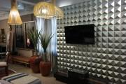 Revestimentos 3D ganham espaço nos ambientes de decoração