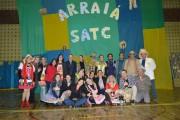 Alegria e solidariedade unidas no Arraial da Satc na unidade de Turvo