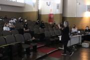 Palestra aborda as competências de um bom líder para alunos do Colégio Satc