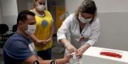 Lions realiza triagem de prevenção a diabetes com profissionais do HSD
