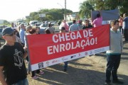 Nova manifestação na Rodovia Estadual SC-445 é adiada