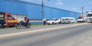 Motociclista tem ferimentos causados por acidente com trator em Içara