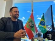 Diego Goulart deixa a Secretaria Executiva de Articulação Nacional de SC