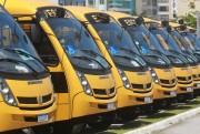 Governo do Estado entrega mais 73 ônibus novos para o transporte escolar
