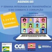 Órgãos de controle promovem a 1ª Semana Integrada da Transparência de SC