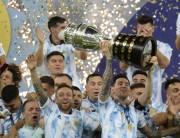 Argentina conquista a Copa América e Itália a Eurocopa