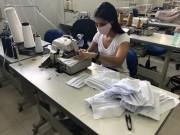 Senac SC confecciona máscaras para equipes de saúde e colaboradores