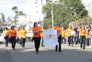 Tudo pronto para o desfile à pátria em Içara