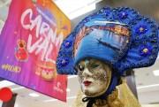 """""""Histórias de Carnaval"""": exposição de fantasias toma conta do Criciúma Shopping"""