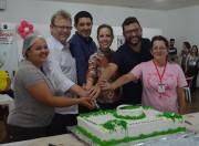 CAPS comemora 11 anos com confraternização em Siderópolis