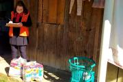 Famílias vulneráveis atingidas por ciclone recebem cestas básicas em Siderópolis