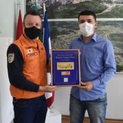 Siderópolis recebe placa de qualificação bronze no Programa SC Resiliente