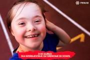 A data de 21 de março é Dia do Amor em homenagem a Síndrome de Down