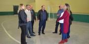 Obras são concluídas no ginásio da Escola Salete Scotti dos Santos