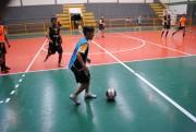 Equipe sub-15 Cocal do Sul/Coopercocal/Anjo Futsal em mais um desafio