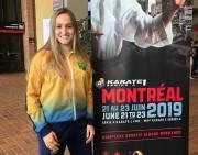 Karateca Sabrina alcança a quinta colocação em Liga Mundial