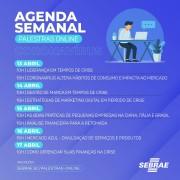 Sebrae/SC oferece série de palestras online e gratuitas ao longo desta semana