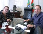 Secretária encaminha licitações de obras em escolas da região de Criciúma