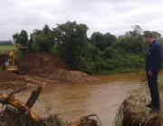 Obra da segunda ponte começa em Jacinto Machado