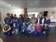 PM realiza palestra sobre trânsito em empresa de Araranguá