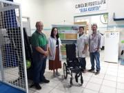 Senai realiza entrega de cadeiras de rodas reformadas