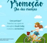 Sicoob Credija vai sortear bicicletas para crianças
