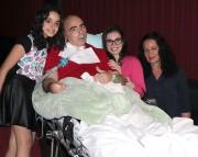 Unimed leva paciente ao cinema para comemorar aniversário da filha