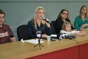 Tati Teixeira (PSD) divulga comunicado aos criciumenses