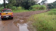 Equipes do Governo buscam reparar estragos provocados por temporal no Oeste de SC