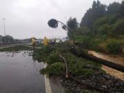 Governo do Estado atua nas cidades catarinenses atingidas por temporal