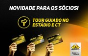 Tour guiado para sócios no Heriberto Hülse e no CT