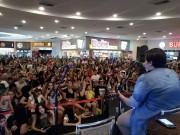 Grande público prestigia show de Ana Vilela no Farol Shopping