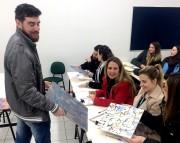 Acadêmicos de Design participam do concurso Talentos Ceusa
