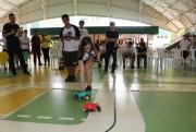 Corrida de carrinhos diverte e ensina alunos na Satc