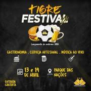 Tigre Festival ocorre neste fim de semana