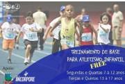 Projeto incentiva a prática do atletismo de forma gratuita