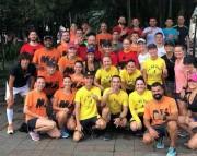 Atletas fazem treino de reconhecimento para a Night Run
