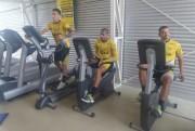 Jogadores do Tigre se apresentam no Centro de Treinamento