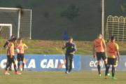 Último treino do Tigre antes da viagem para Londrina